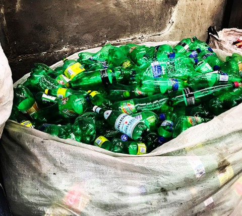 Green PET Bottles